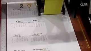 Audley digital hot foil printer ADL-3050C  machine vedio