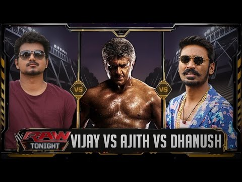 Vijay VS Ajith VS Dhanush - Triple Threat Match thumbnail