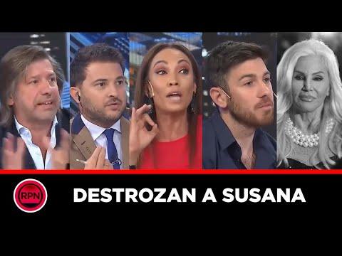 Ernestina Pais, Brancatelli, Guido Lapa y Roberto Barga DESTROZARON a Susana y dieron CÁTEDRA