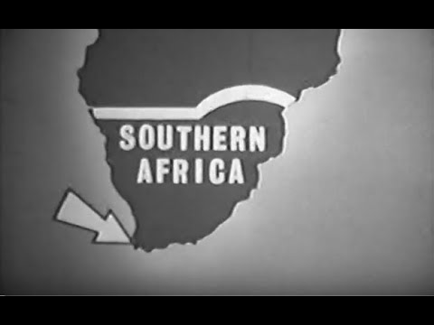 African Continent:  Southern Region - The Geography of South Africa