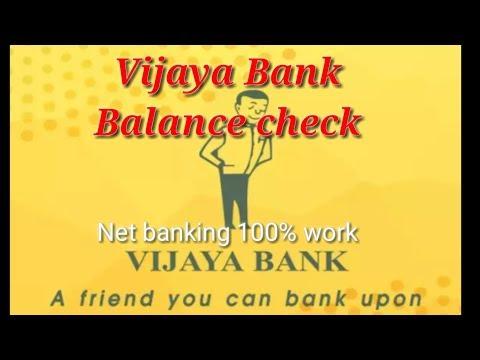 vijayabank net banking