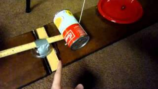 My 8th grade Rube Goldberg Project