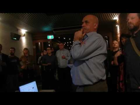 Adelaide Data Growers Meetup No. 1 (Video 1)  - The Things Network (Unedited video from phone)