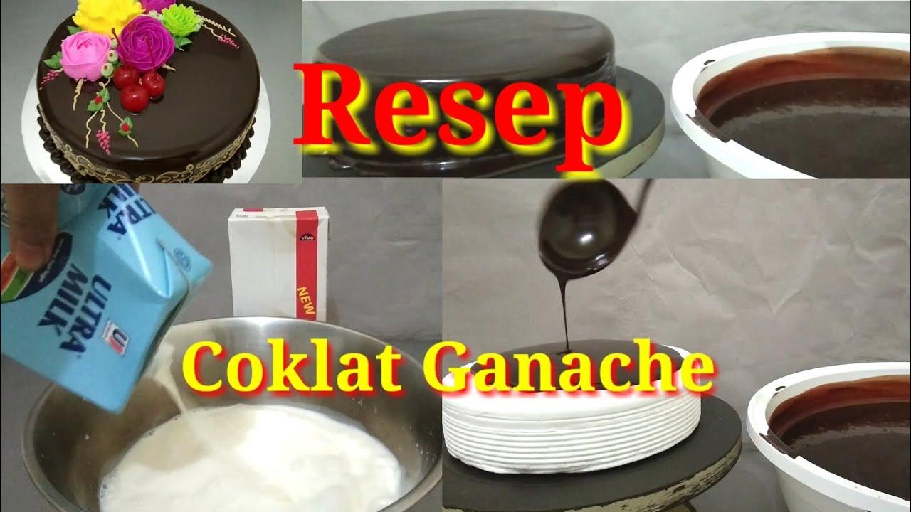 Resep Cokelat Ganache Premium Youtube