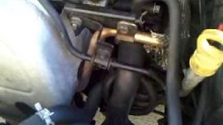 2000 ford focus 2.0 DOHC - PCV valve location (and tweak)