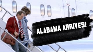 Watch Alabama arrive in Arizona for the National Championship