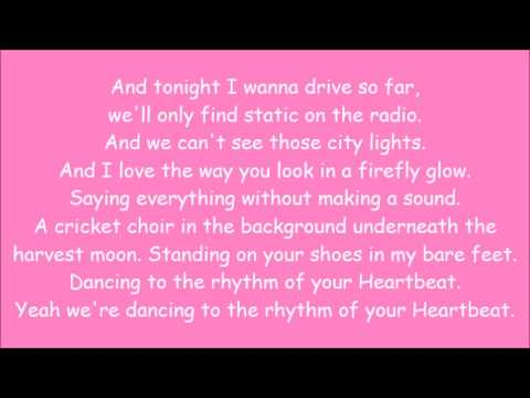 Carrie Underwood ~ Hearbeat (Lyrics)