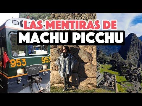 Las mentiras sobre la visita a Machu Picchu