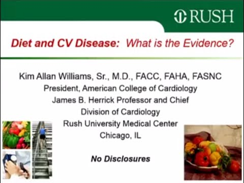 PL3 - Tough Choice - Diet And CV Disease: What Is The Evidence? Kim A.Williams Chicago, IL, USA