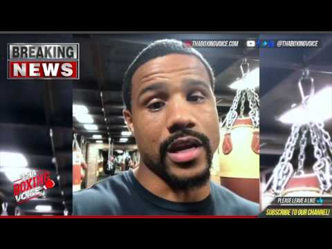 Andre Dirrell Post Fight Thoughts on Gennady Golovkin Beating Daniel Jacobs