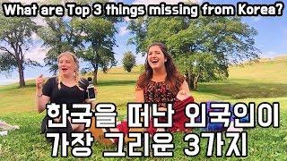 한국을 떠난 외국인이 가장 그리워하는 3가지! (채린 컴백!) [외국inKOREA]