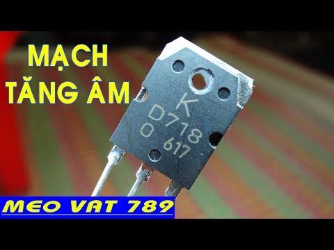 Làm Mạch TĂNG ÂM ĐƠN GIẢN NHẤT - Make Acoustic Circuit