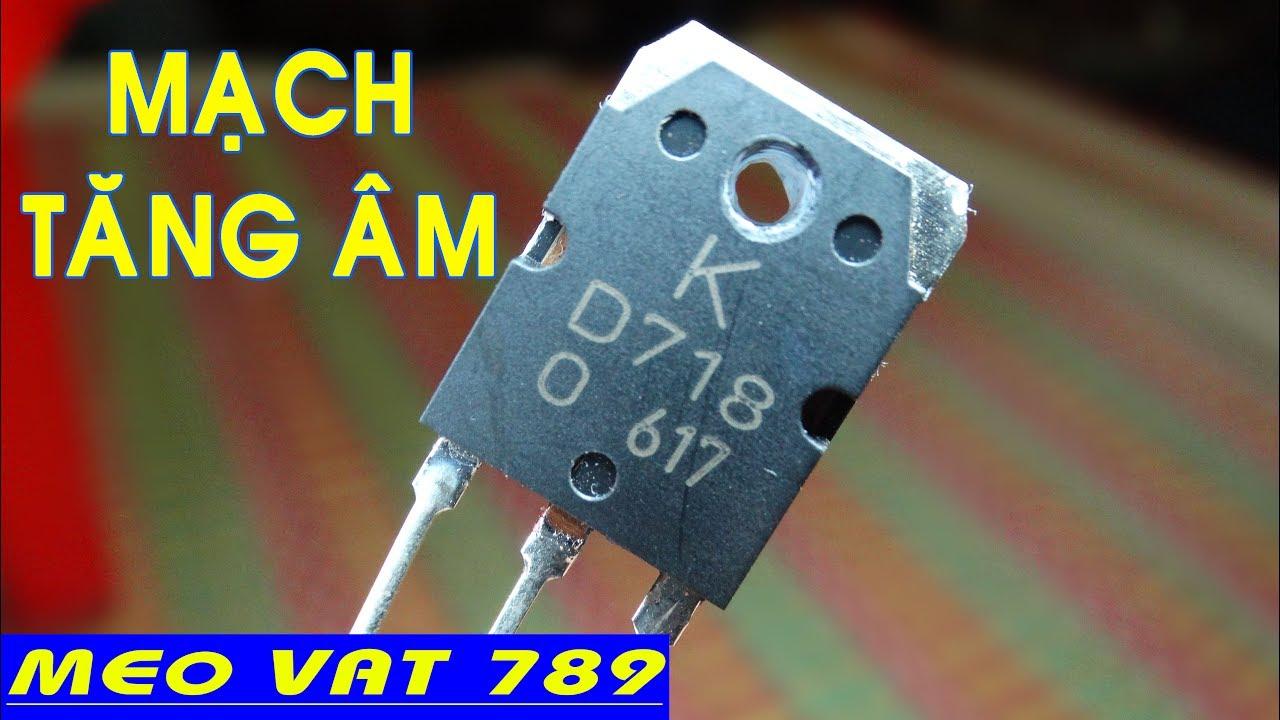 Làm mạch TĂNG ÂM ĐƠN GIẢN NHẤT – Make acoustic circuit
