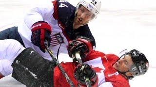 Winner of USA v. Canada hockey game is ...