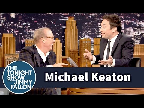 Rhyme-versation with Michael Keaton
