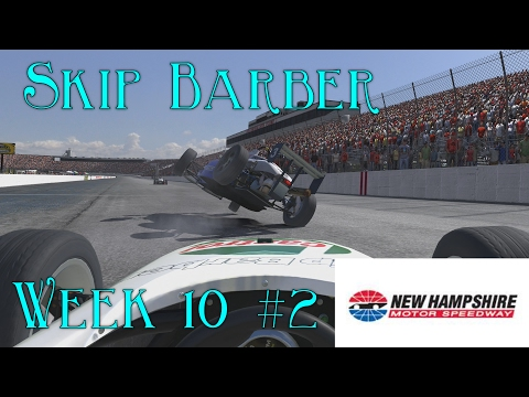 At Least Im Not Involved In This One ! - Skip Barber @ New Hampshire - S1 W10 2017 R2 - Iracing