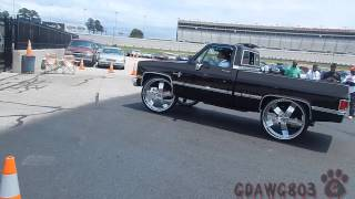 TNTOYZ Box Chevy and Shortbed Pull Up @ Stuntfest 2k14