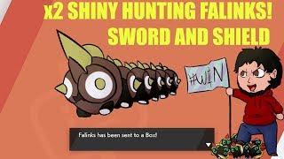 Shiny Falinks Found!!! x2 hunting Stuff?Pokemon Sword & Shield!