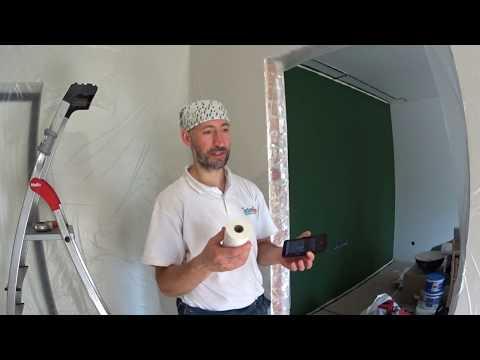 Как сохранить стены в чистоте при монтаже натяжных потолков. Ростов-на-Дону.