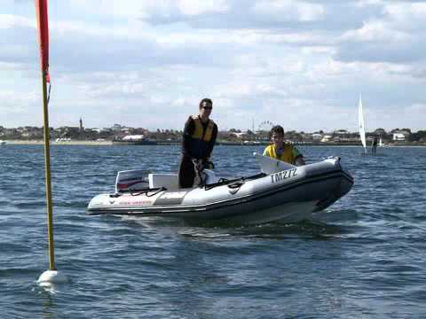 Mordialloc Sailing Club race management