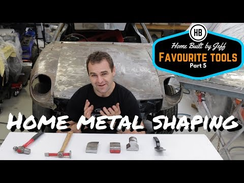 DIY Home sheet metal shaping - My favourite tools part 5
