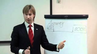Самый короткий маркетинг-план компании Amway