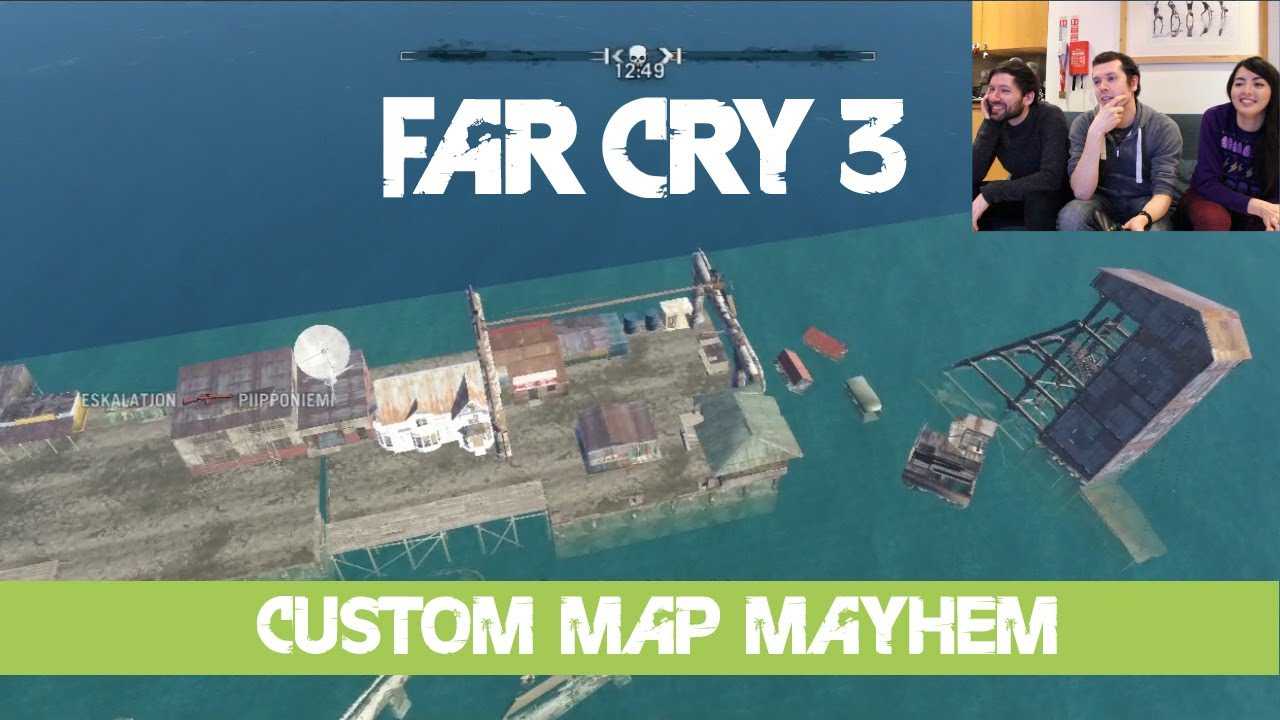 Let S Play Far Cry 3 Custom Maps Multiplayer Gameplay Map Editor
