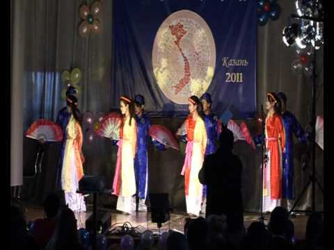 """""""Cây đa quán dốc"""" - đội múa trường Đại học Công nghệ Kazan"""