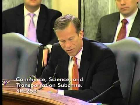 Thune at Commerce Subcommittee on State of Video