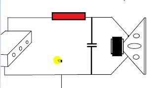 Não ligue capacitor direto nos terminais de saída de um amplificador