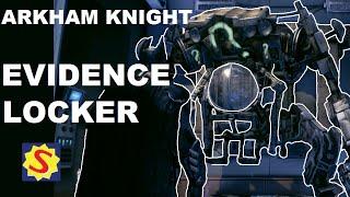 Batman Arkham Knight - All Evidence Locker Weapons