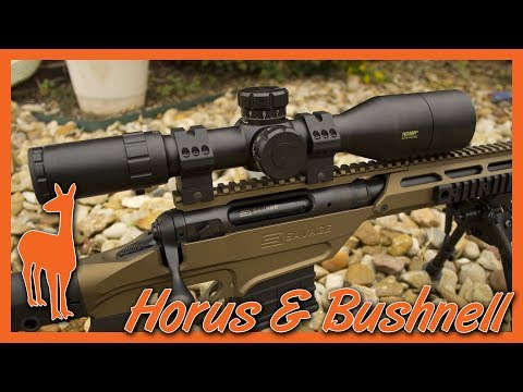 Bushnell HDMR-II Tactical Rifle Scope Final Review - Horus H59 Reticle Rules All