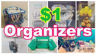 26+ DOLLAR STORE ORGANIZATION IDEAS & EASY HACKS COUNTER OR TABLETOP & UNDER THE SINK (Compilation)