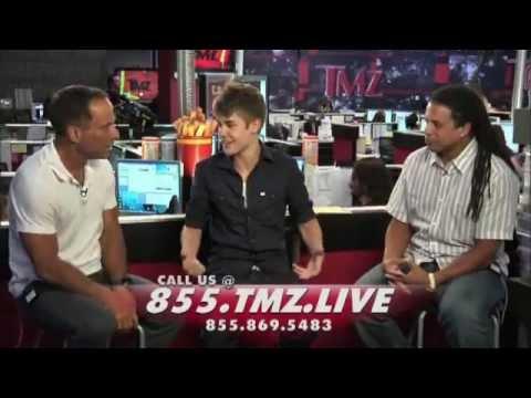 Justin Bieber On TMZ Live - Complete Interview 24/08/11
