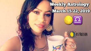 Weekly Horoscope for Mar 15-22, 2019 & Celebrity Coffee Talk!   J-Lo & A-Rod