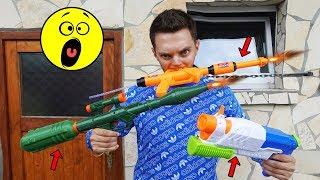 3 außergewöhnliche WASSER PISTOLEN im TEST! | Johnny Hand