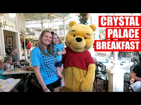 CRYSTAL PALACE BREAKFAST | Walt Disney World Vacation September 2016 Day 5, Part 1