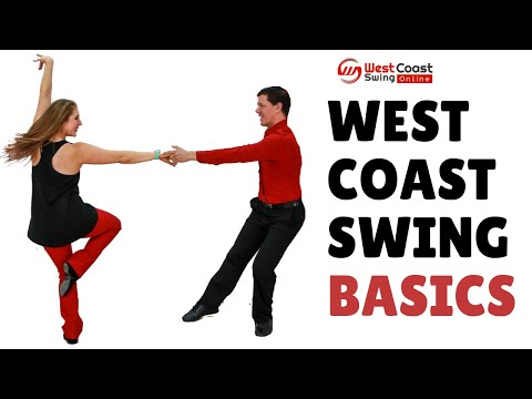 West Coast Swing Basic Steps // Beginner WCS