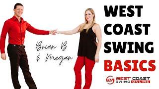 West Coast Swing Basic Steps // Beginner WCS