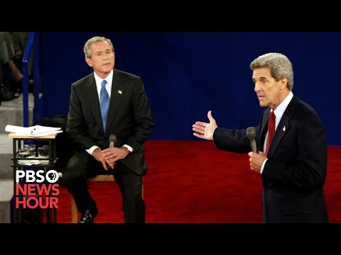 Bush vs. Kerry: The second 2004 presidential debate