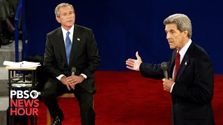 Bush vs. Kerry: The second 2004 presidential debate