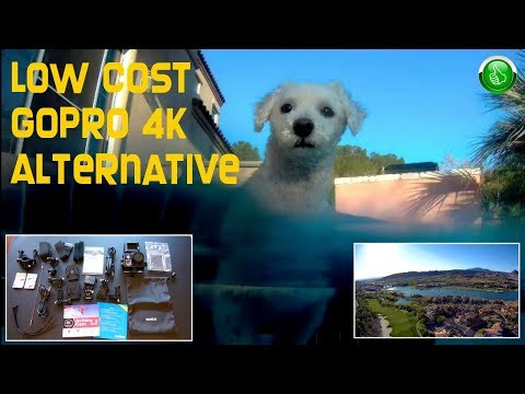 LOW COST Alternative To GoPro 4K Action/Sports Camera