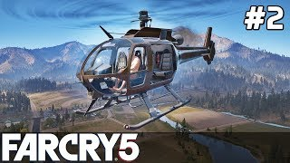 FAR CRY 5 Gameplay PL [#2] HELIKOPTER w Akcji /z Skie