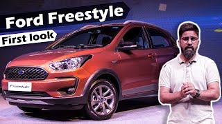 Ford Freestyle First Look Review in Hindi | Figo Cross| ICN Studio