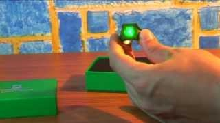 Обзор на кольцо Зелёного фонаря. Green Lantern  Movie light up power ring. Noble Collection