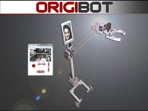 The Origibot aims to turn your Android tablet into a telepresence robot