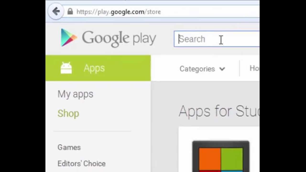 شرح تحميل اي برنامج او لعبة اندرويد بصيغة Apk علي جهازك من جوجل بلاي مجانا