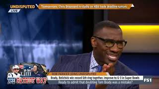Rob Parker PRAISES Brady, Belichick win record 6th ring together, improve to 6 3 in SB