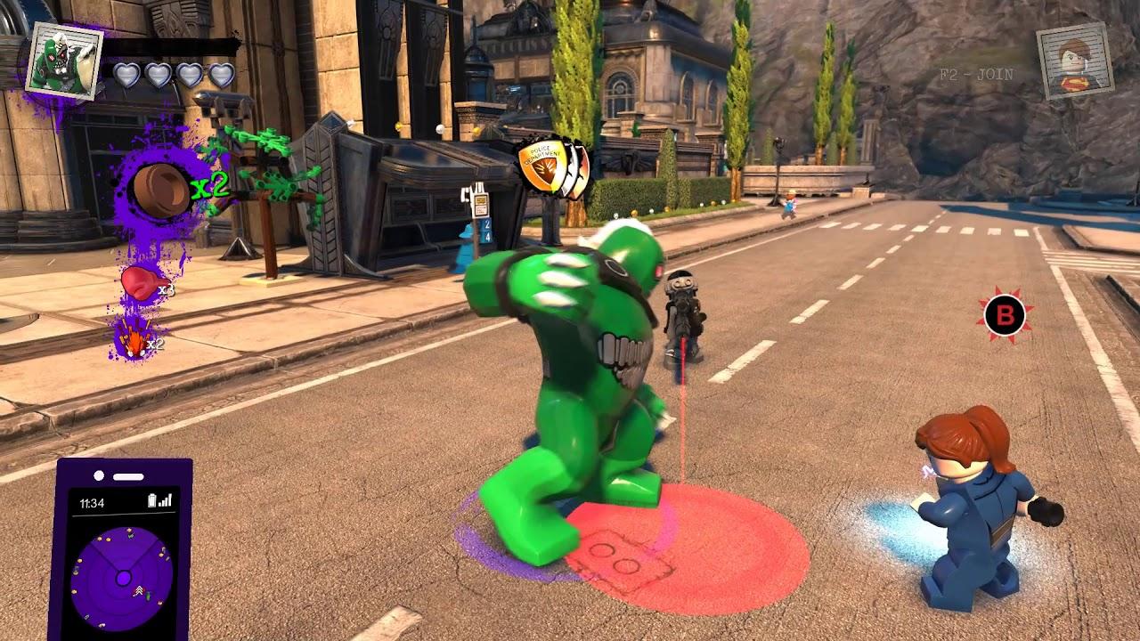 Lego Dc Super Villains How To Unlock Doomsday Boss Battle Free Roam Gameplay Youtube