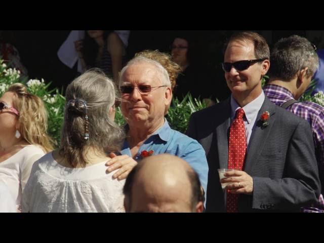 Wedding Vow Renewal at the Hotel Galvez on Galveston Island